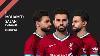 PES 2020 Faces Mohamed Salah by DizzeeSpellz