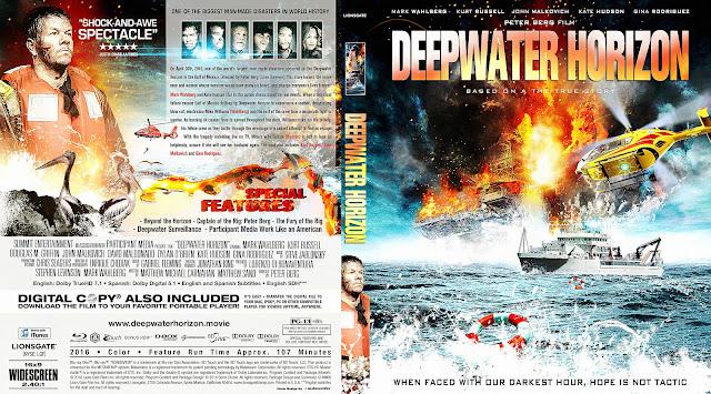 Deepwater Horizon Bluray Cover