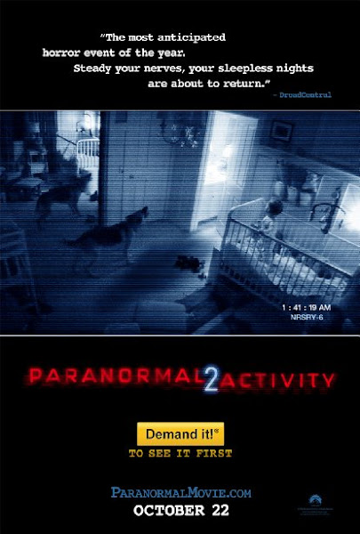 Poster Of Paranormal Activity 2 (2010) UnRated 720p Hindi BRRip Dual Audio Download
