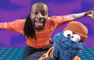 Cookie Monster and Wyclef Jean sing Healthy Food. Sesame Street Happy Healthy Monsters