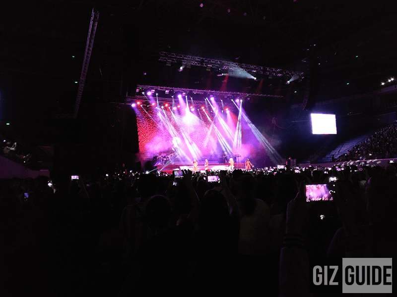 Concert lowlight