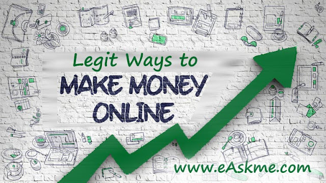 Legit Ways to Make Money from Home: eAskme
