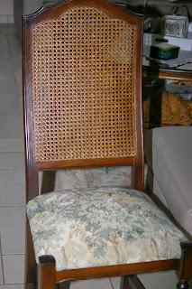 te renoveren stoel