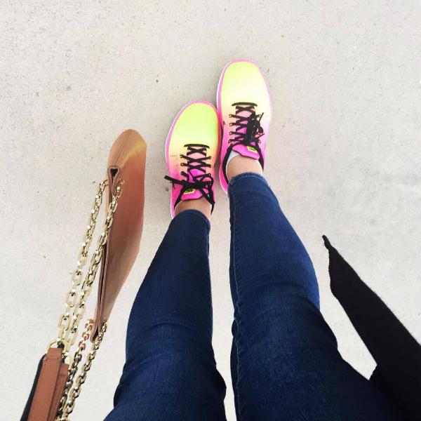 famous footwear, nike flex