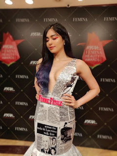 Adah Sharma at Nykaa Femina Beauty Awards 2019 (7)