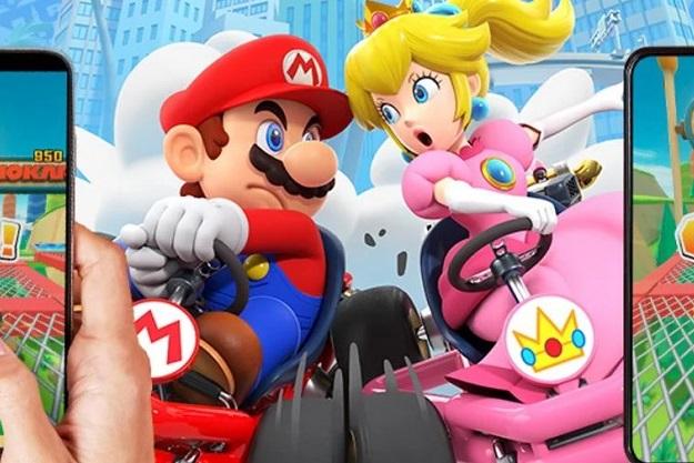 παίξτε δωρεάν Mario Kart με φίλους στα Smartphones multiplayer