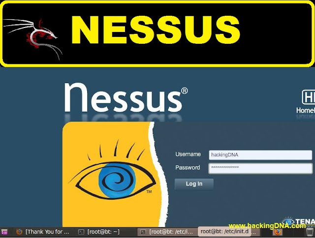 nessus on backtrack 5