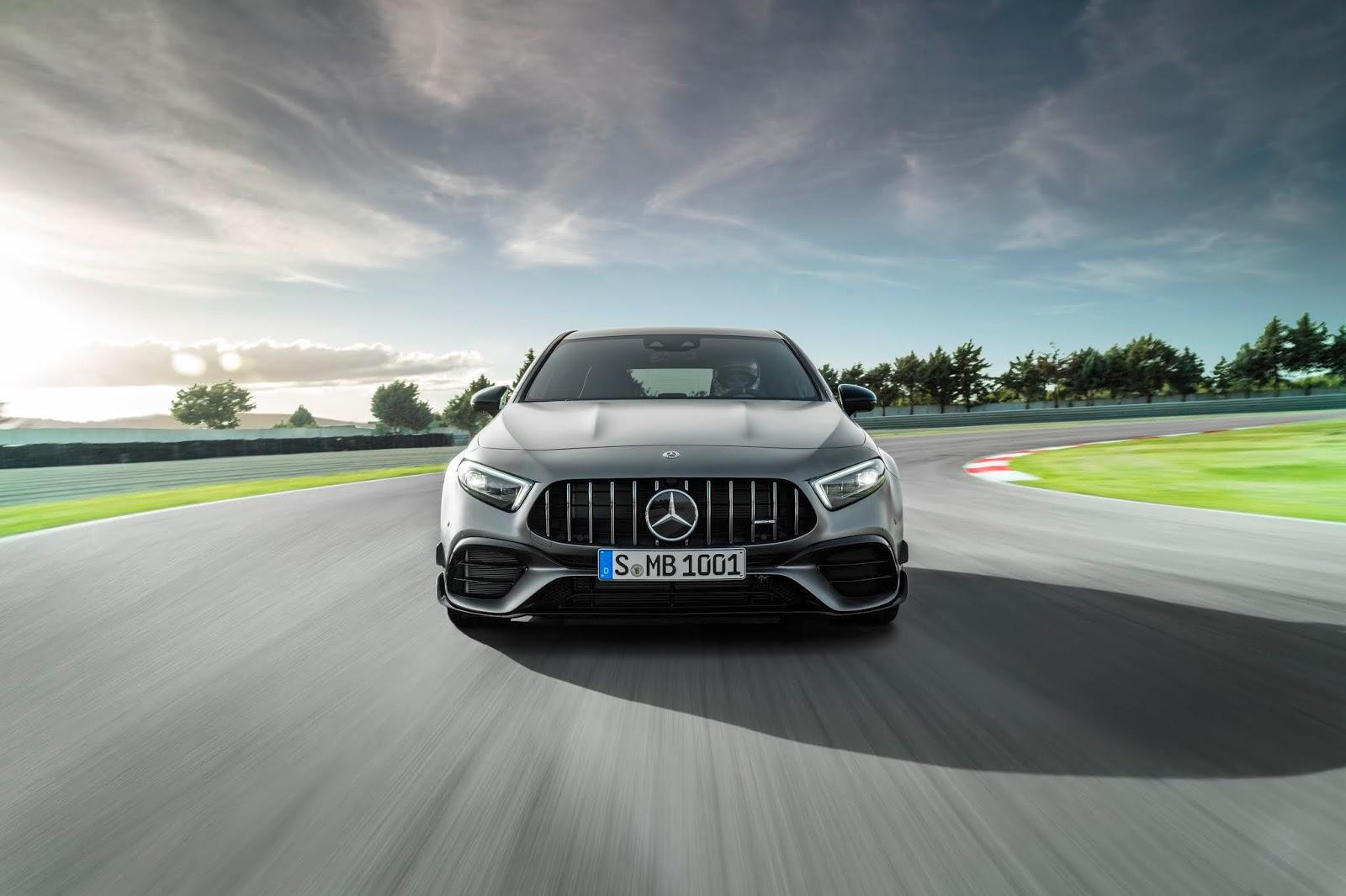 2019 Mercedes-Benz AMG A45 Revealed   VANDI4U