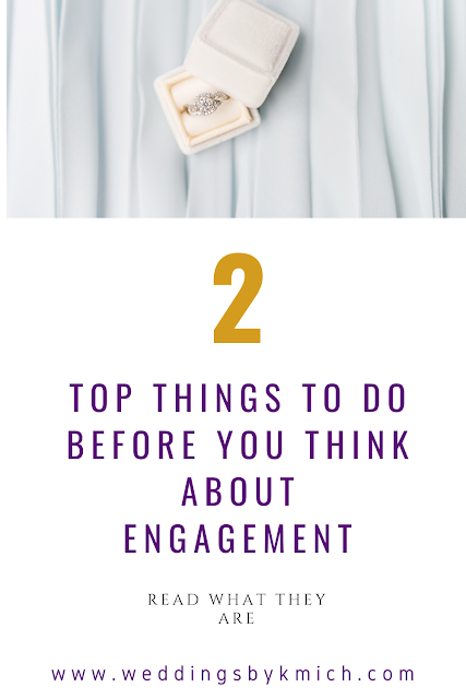 I don't know if I would have held off on the wedding or not. But looking back, I should have... engagement planning - wedding planning blog - K'Mich Weddings Philadelphia PA
