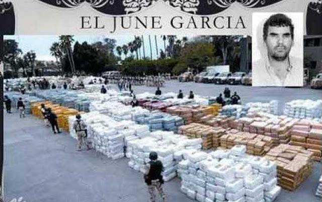 """""""El June"""" Garcia, el narco que compró la protección y simpatía de su pueblo"""