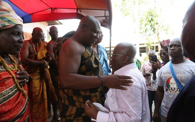 I never promised Mahama 100k votes - Togbui Fiti V