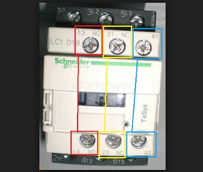 Cara Memasang Kontaktor (Wiring)