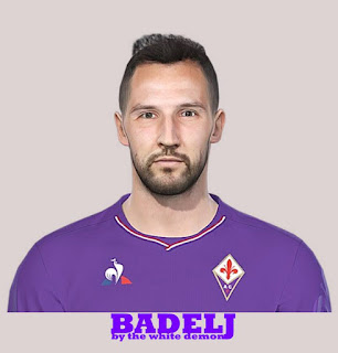 PES 2019 Faces Milan Badelj by Jarray & The White Demon