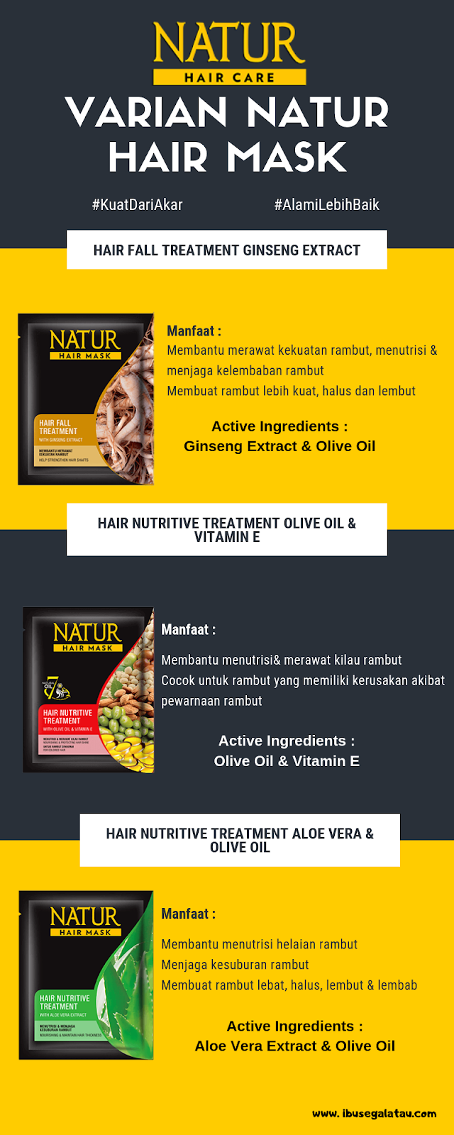 varian natur hair mask