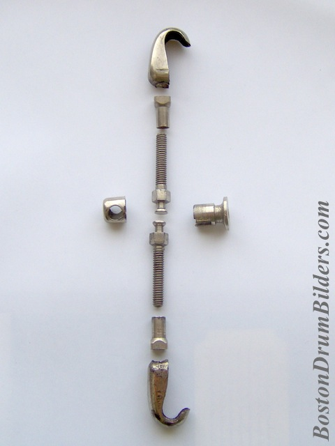 Nokes & Nicolai Separate Tension Rods Disassembled