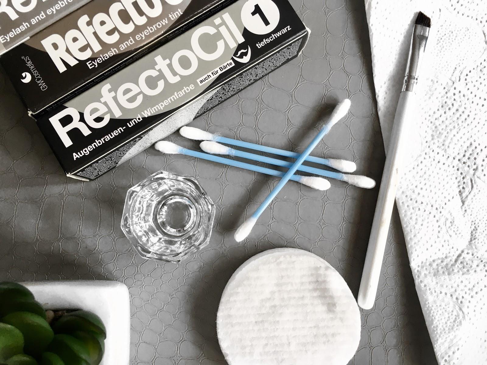 Jak zrobić hennę brwi i rzęs w domu - RefectoCil. Mój sposób + efekty