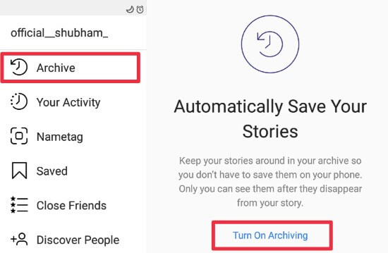 How to ARCHIVE & UNARCHIVE Instagram Post, Story