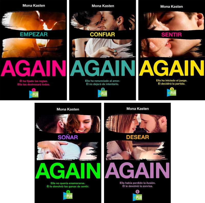 Saga de Again – Mona Kasten