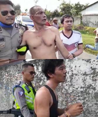 Ketahuan Saat Mencuri Ban di Jalan Lintas Medan-T.Morawa, 4 Pelaku Dipermak Warga