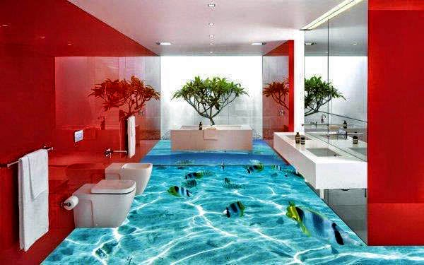 gerrys blog 3d boden bietet wow effekt im badezimmer. Black Bedroom Furniture Sets. Home Design Ideas