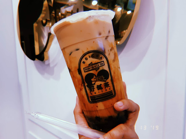 Brown Sugar Milk Tea at Hoicha