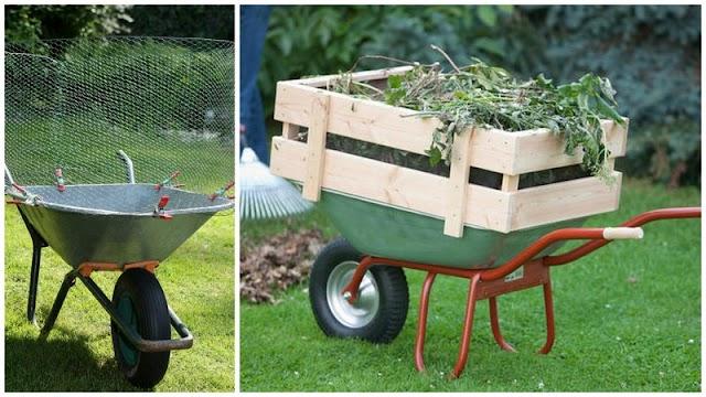 Πως θα κάνετε το Καρότσι Κήπου να χωρά περισσότερα
