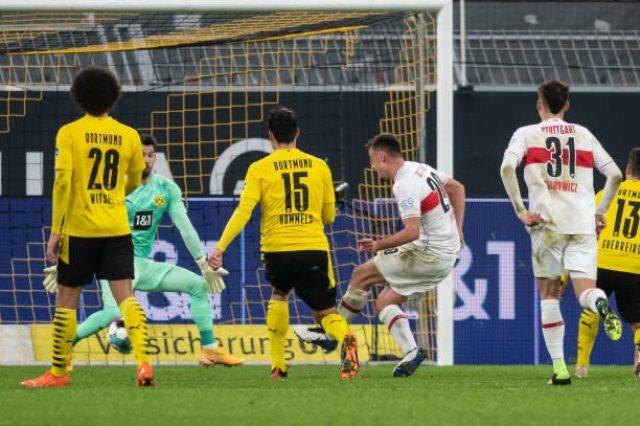 تقرير مباراة دورتموند أمام شتوتجارت في الدوري الألماني والقنوات الناقلة