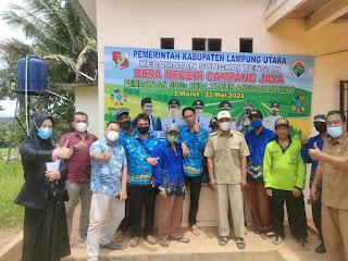 Pokja Relawan Pendataan Desa/SDGs Desa 2021 di Desa Negri Campang Jaya Terbentuk