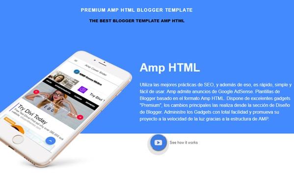 Premium AMP HTML