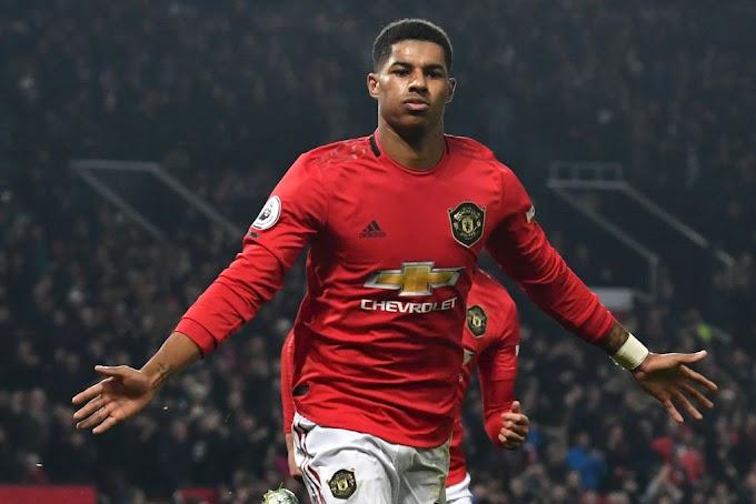 Manchester United striker Rashford tops nutmeg charts for 2019/20 Premier League season