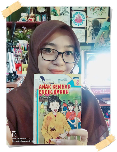 Anak Kembar Encik Harun Siri Pelajar No. 8 | Buku Kegemaran Ketika Berumur 11-12 Tahun