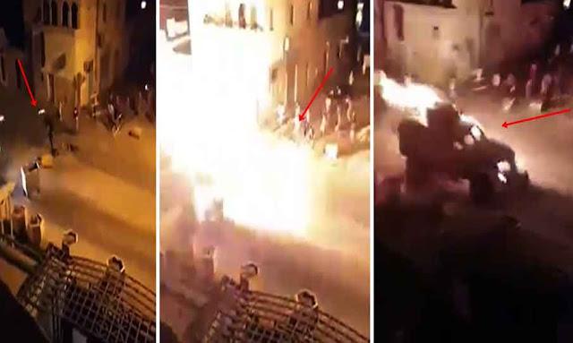 عاجل تونس: استعمال الزجاجات الحارقة في مواجهات عنيفة بين المحتجين و الجيش الوطني التونسي في رمادة