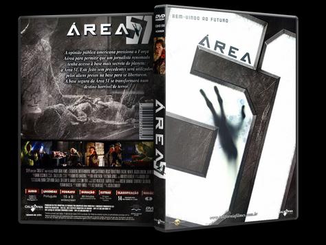 Capa DVD Área 51