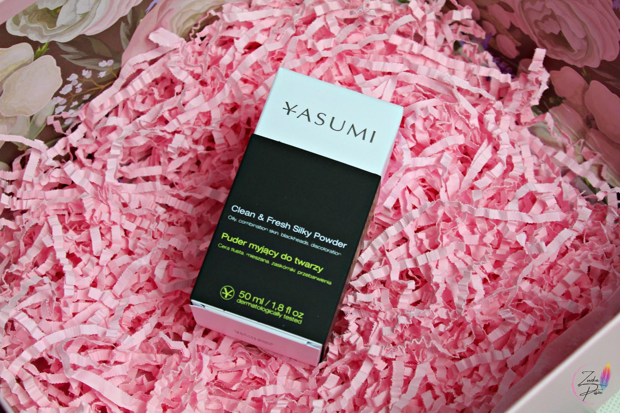 YASUMI Oczyszczający proszek do twarzy CLEAN & FRESH SILKY POWDER