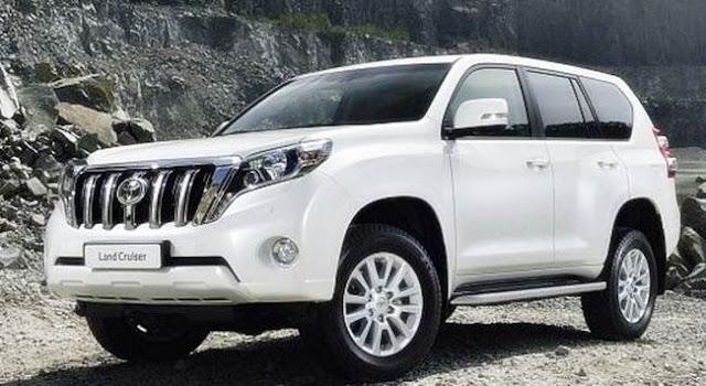 New Toyota Land Cruiser Prado 2018