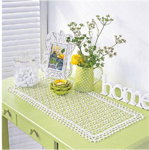 ma passion le crochet chemin de table original. Black Bedroom Furniture Sets. Home Design Ideas