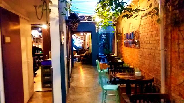 Interior Cafeteria Sofá Café