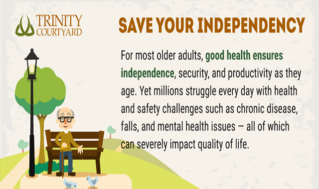 Senior Living Community: Save Your Independency #infographic
