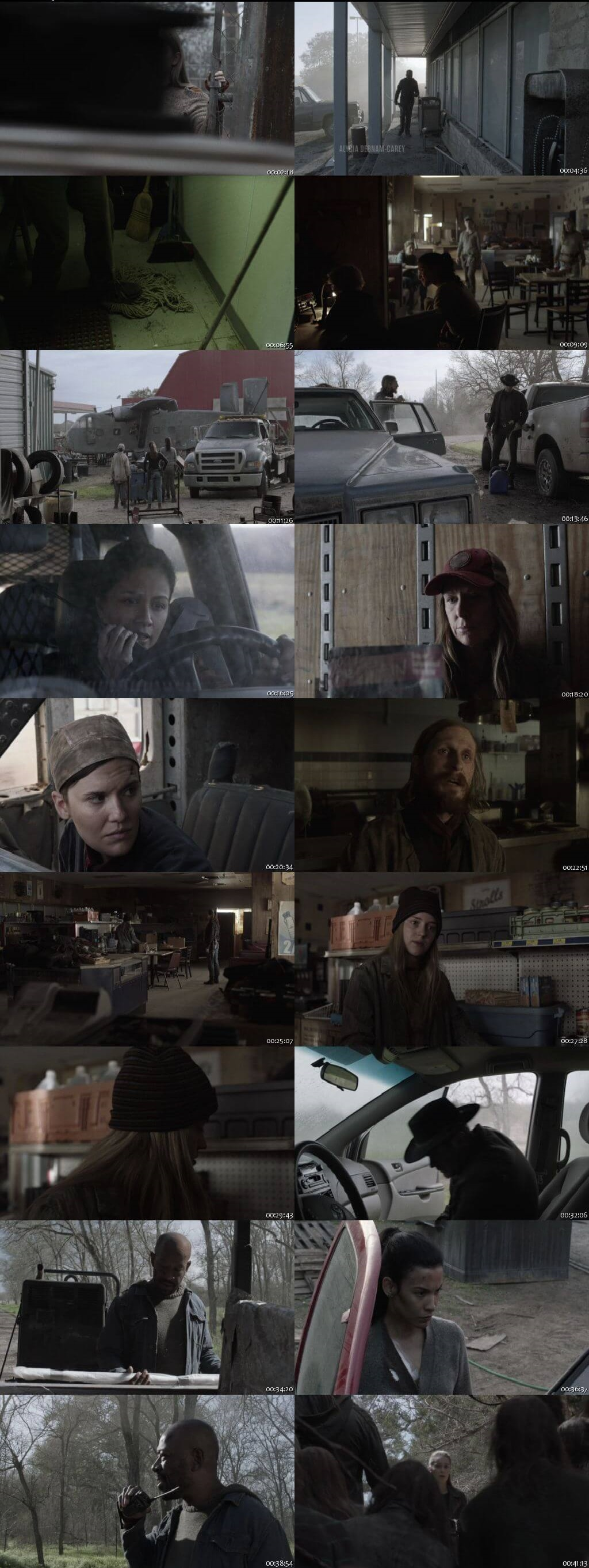 Screenshots Of English Show Fear the Walking Dead Season 05 Episode 06 2019 WEB-DL 720P 300MB