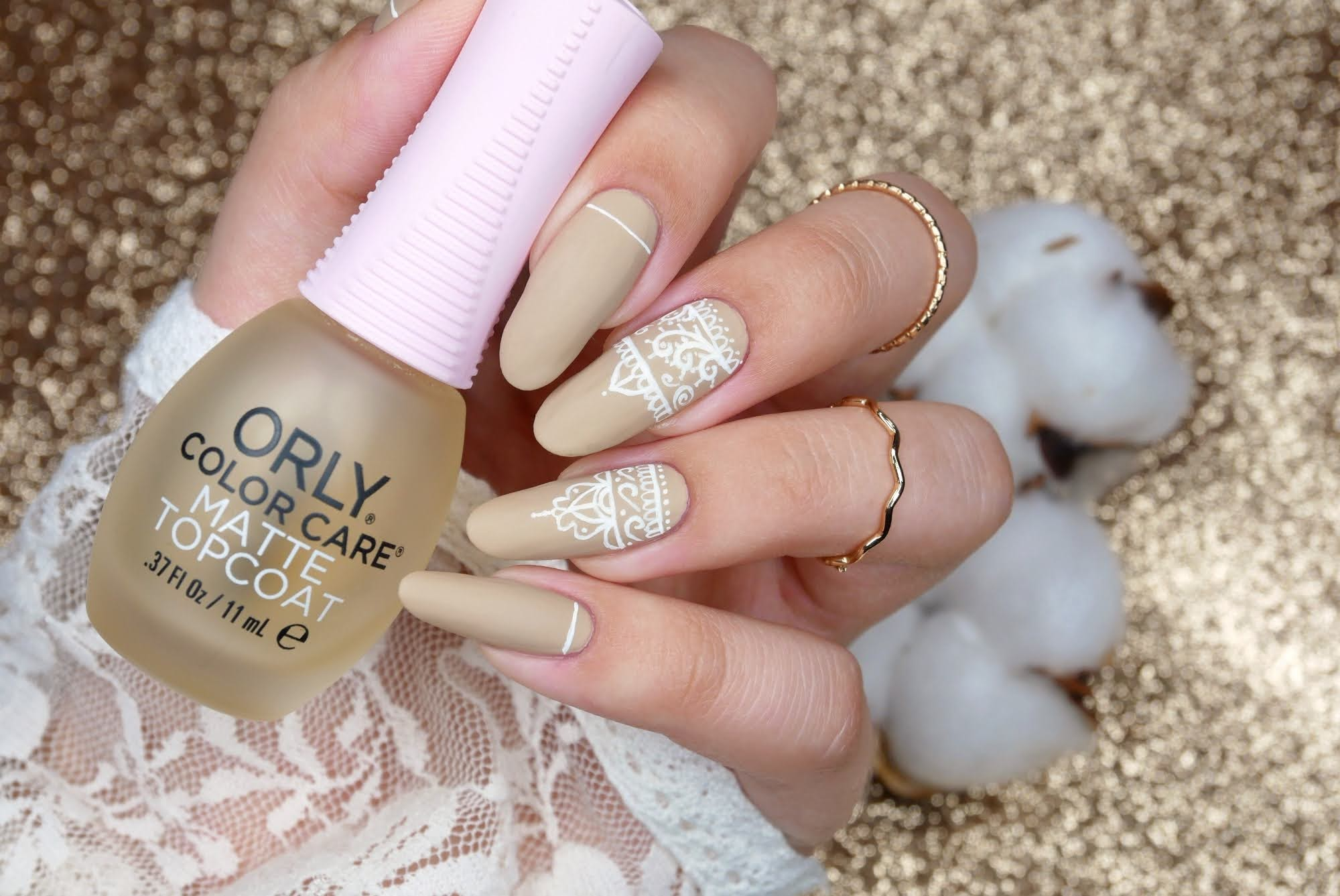 Top coat matowy Orly