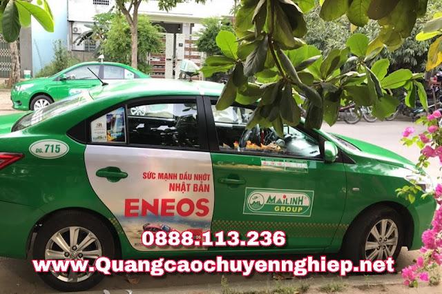 Dán quảng cáo trên Taxi tại Hà nội