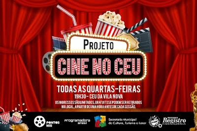 """Prefeitura de Registro-SP iniciará o Projeto """"Cine no CEU"""""""