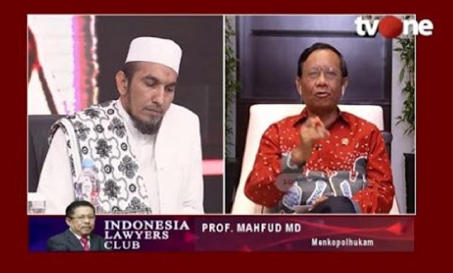 Menkopolhukam Mahfud MD: Tanpa SKT, FPI Boleh Jalan Kok