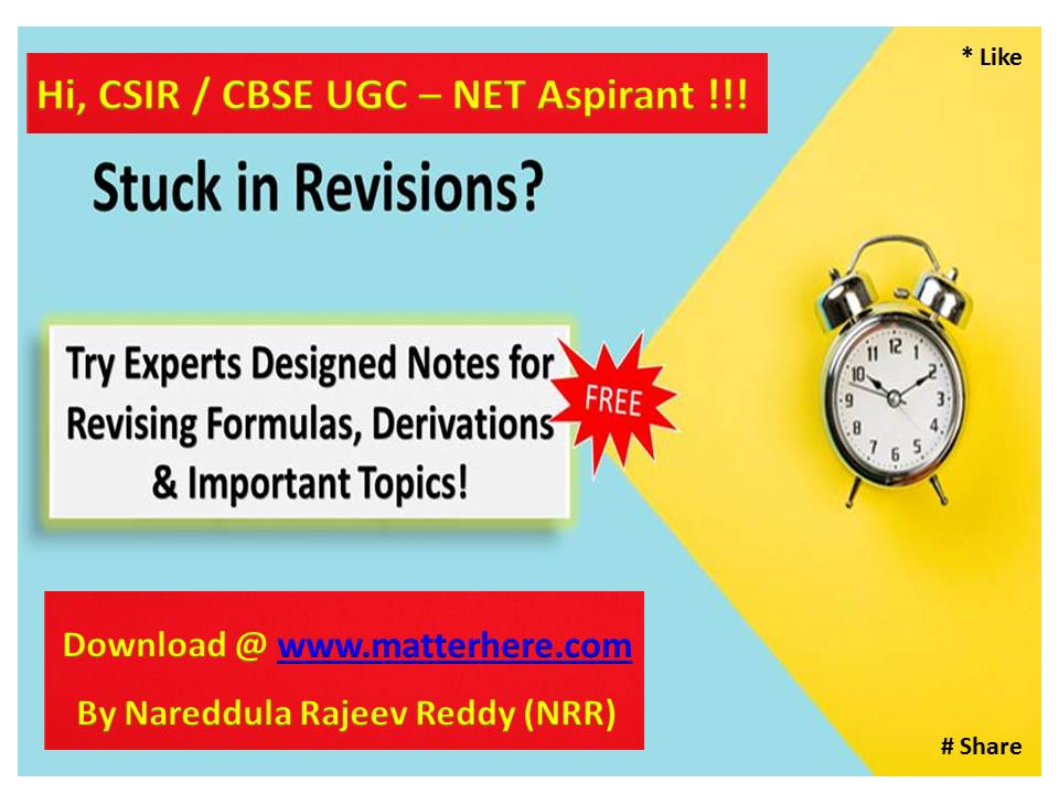 CSIR / CBSE UGC [NET] [Previous Years Solved Papers] PDF