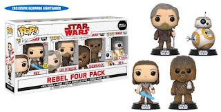 The Last Jedi Pop! 4-Packs Rebels