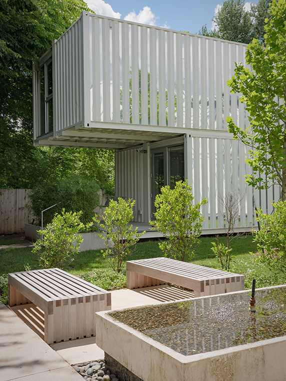 Award-Winning Shipping Container Homes, Oklahoma City 10