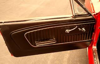 1965 Ford Mustang Fastback Door Interior