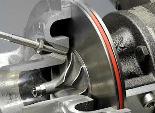 Sensore giri turbo montaggio sul lato adpirazione