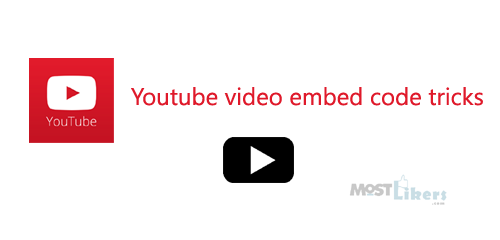 youtube embedded code