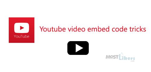 youtube embedded code